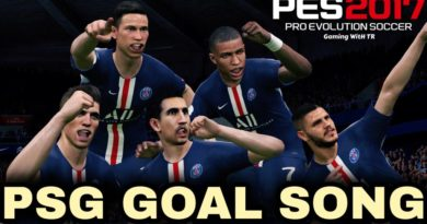 PES 2017 | PARIS SAINT-GERMAIN GOAL SONG