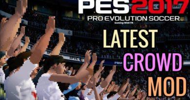 PES 2017 | LATEST CROWD MOD BY TR