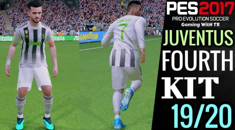 PES 2017 | JUVENTUS | FOURTH KIT 19/20