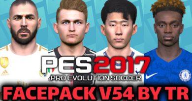 PES 2017 | FACEPACK V54 BY TR