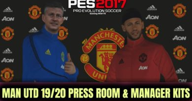 PES 2017 | MANCHESTER UNITED 19/20 | PRESS ROOM & MANAGER KITS