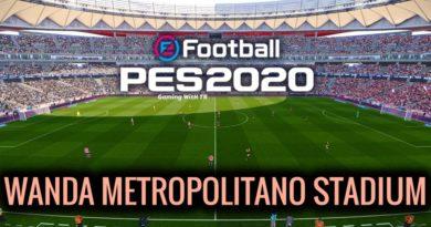PES 2020   WANDA METROPOLITANO STADIUM