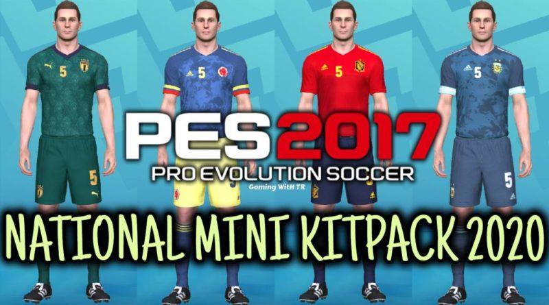 PES 2017 | NATIONAL MINI KITPACK 2020