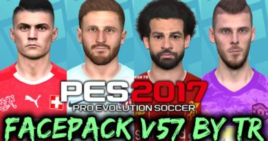 PES 2017 | FACEPACK V57 BY TR