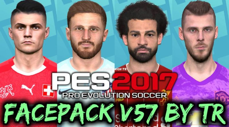 PES 2017 | FACEPACK V57 BY TR