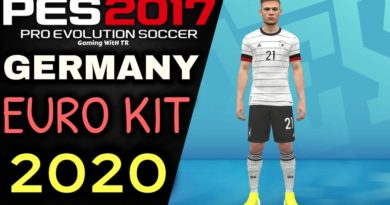 PES 2017 | GERMANY | UEFA EURO KIT 2020
