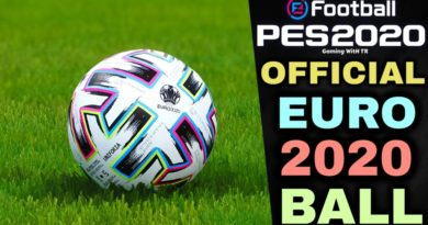 PES 2020 | OFFICIAL EURO 2020 BALL