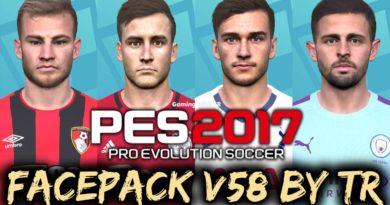 PES 2017   FACEPACK V58 BY TR