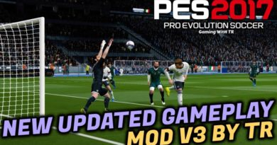 PES 2017   NEW UPDATED GAMEPLAY MOD V3 BY TR