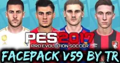 PES 2017   FACEPACK V59 BY TR