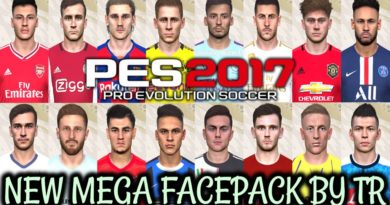 PES 2017   NEW MEGA FACEPACK BY TR   680+ NEW FACES   ALL IN ONE