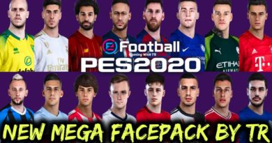 PES 2020 | NEW MEGA FACEPACK BY TR