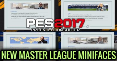 PES 2017 | NEW MASTER LEAGUE MINIFACES
