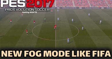 PES 2017 | NEW FOG MODE LIKE FIFA