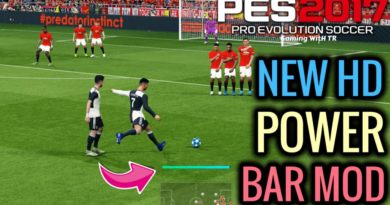 PES 2017 | NEW HD POWER BAR MOD