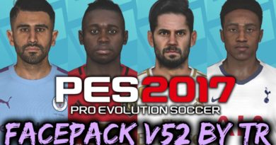 PES 2017 | FACEPACK V52 BY TR