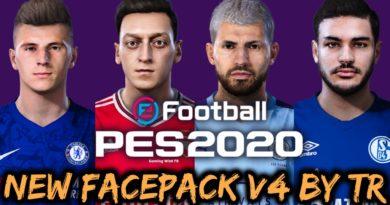 PES 2020   NEW FACEPACK V4 BY TR