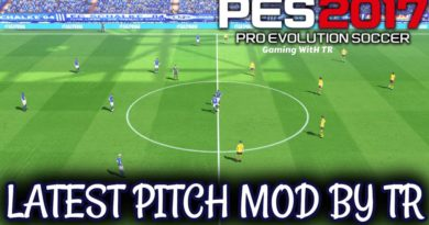 PES 2017 | LATEST PITCH MOD BY TR