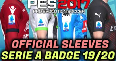 PES 2017 | OFFICIAL SLEEVES SERIE A BADGE 2019/2020
