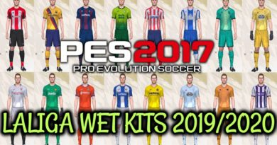 PES 2017 | LALIGA WET KITS 2019/2020