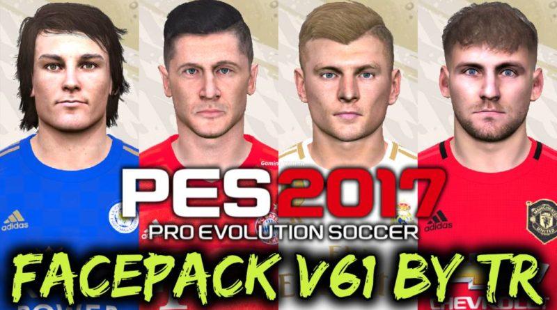 PES 2017 | FACEPACK V61 BY TR