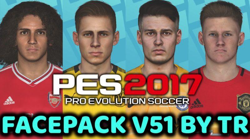 PES 2017 | FACEPACK V51 BY TR