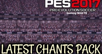 PES 2017 | LATEST CHANTS PACK