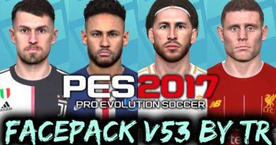 PES 2017 | FACEPACK V53 BY TR