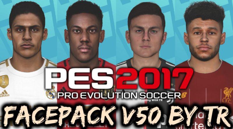 PES 2017   FACEPACK V50 BY TR