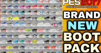 PES 2017 | BRAND NEW BOOTPACK BY TISERA09