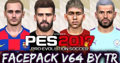 PES 2017 | FACEPACK V64 BY TR