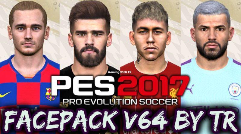 PES 2017   FACEPACK V64 BY TR