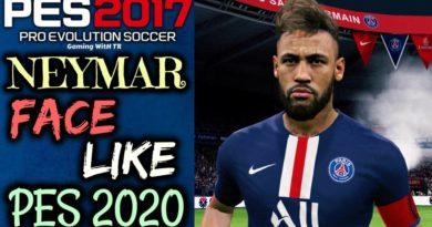 PES 2017 | NEYMAR JR FACE & HAIRSTYLE LIKE PES 2020
