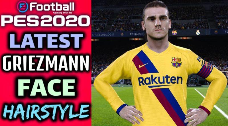 PES 2020 | LATEST ANTOINE GRIEZMANN | FACE & HAIRSTYLE