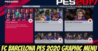 PES 2017   FC BARCELONA   PES 2020 GRAPHIC MENU