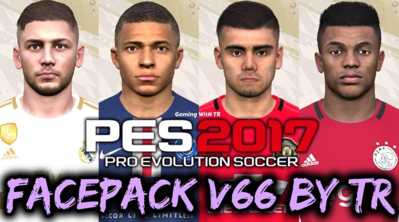 PES 2017 | FACEPACK V66 BY TR