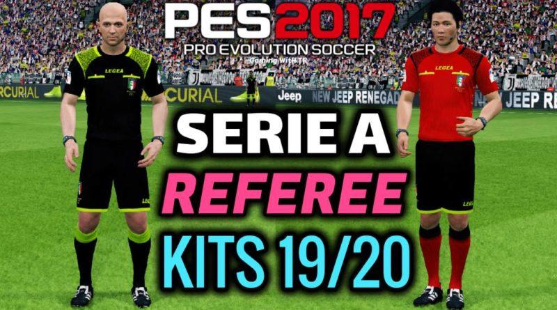 PES 2017 | SERIE A REFEREE KITS 2019/2020
