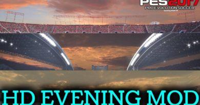 PES 2017 | HD EVENING MOD