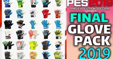 PES 2019 | FINAL NEW GLOVEPACK 2019 BY TISERA09