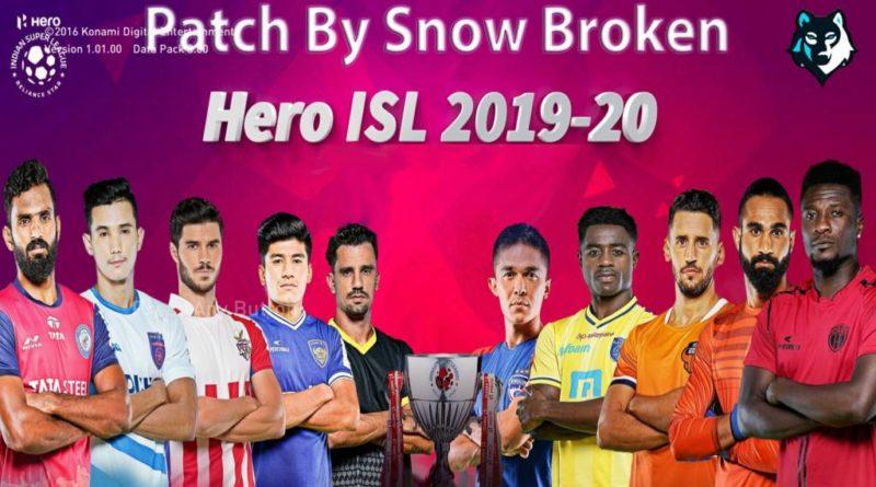 PES 2017 | INDIAN SUPER LEAGUE PATCH 2019/2020