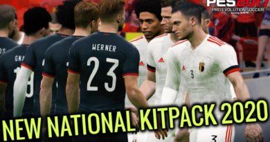 PES 2017 | NEW NATIONAL KITPACK 2020