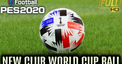 PES 2020 | ADIDAS X CAPTAIN TSUBASA BALL | NEW CLUB WORLD CUP BALL