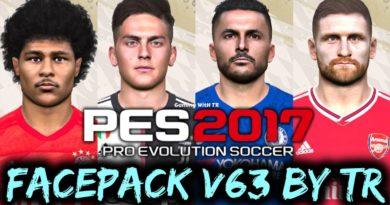 PES 2017   FACEPACK V63 BY TR