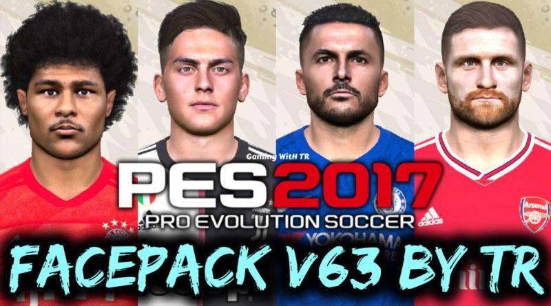 PES 2017 | FACEPACK V63 BY TR