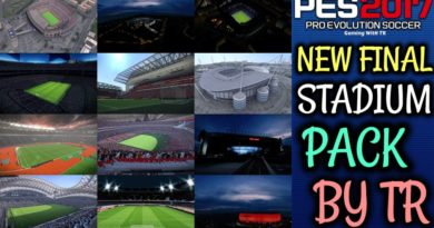 PES 2017 | NEW FINAL STADIUM PACK 2019 BY TR | FOR ALL PATCHES