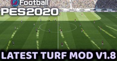 PES 2020 | LATEST TURF MOD V1.8