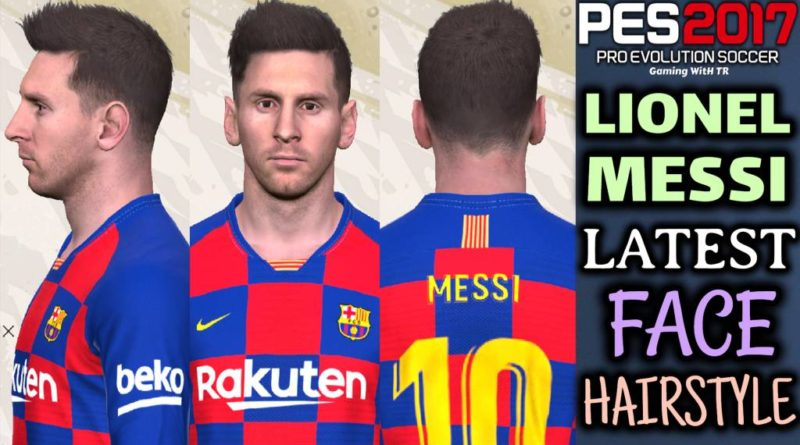 PES 2017 | LIONEL MESSI | LATEST FACE & HAIRSTYLE