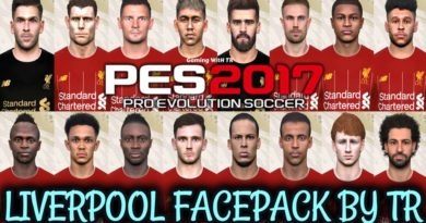 PES 2017 | LATEST LIVERPOOL FACEPACK BY TR | ALL IN ONE