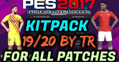PES 2017 | NEW KITPACK 2019/2020 BY TR | ALL IN ONE