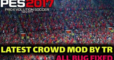 PES 2017 | LATEST CROWD MOD BY TR | ALL BUG FIXED